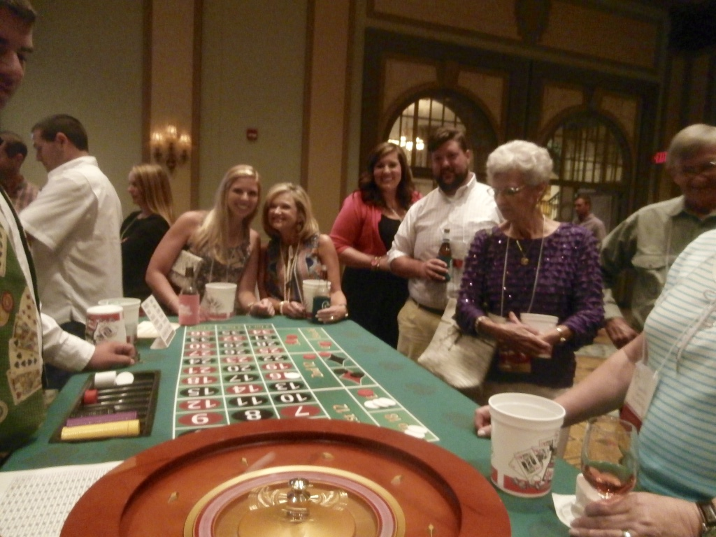 roulette table rental atlanta
