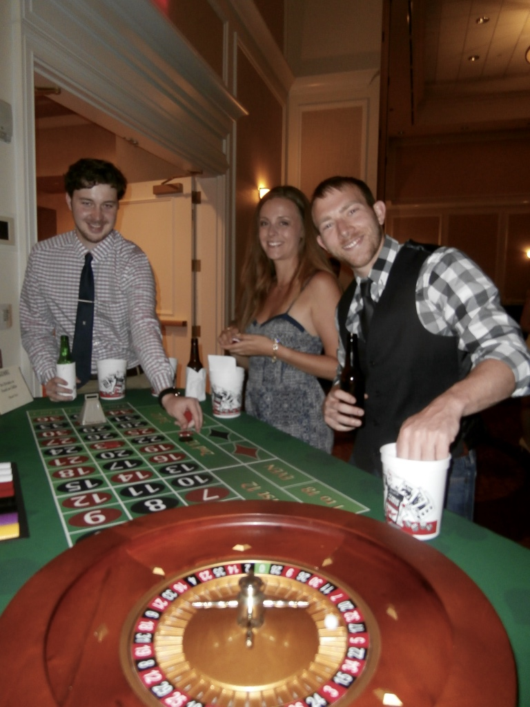 casino night theme parties