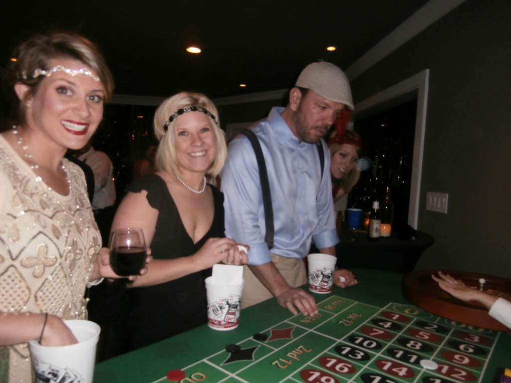 casino themed wedding