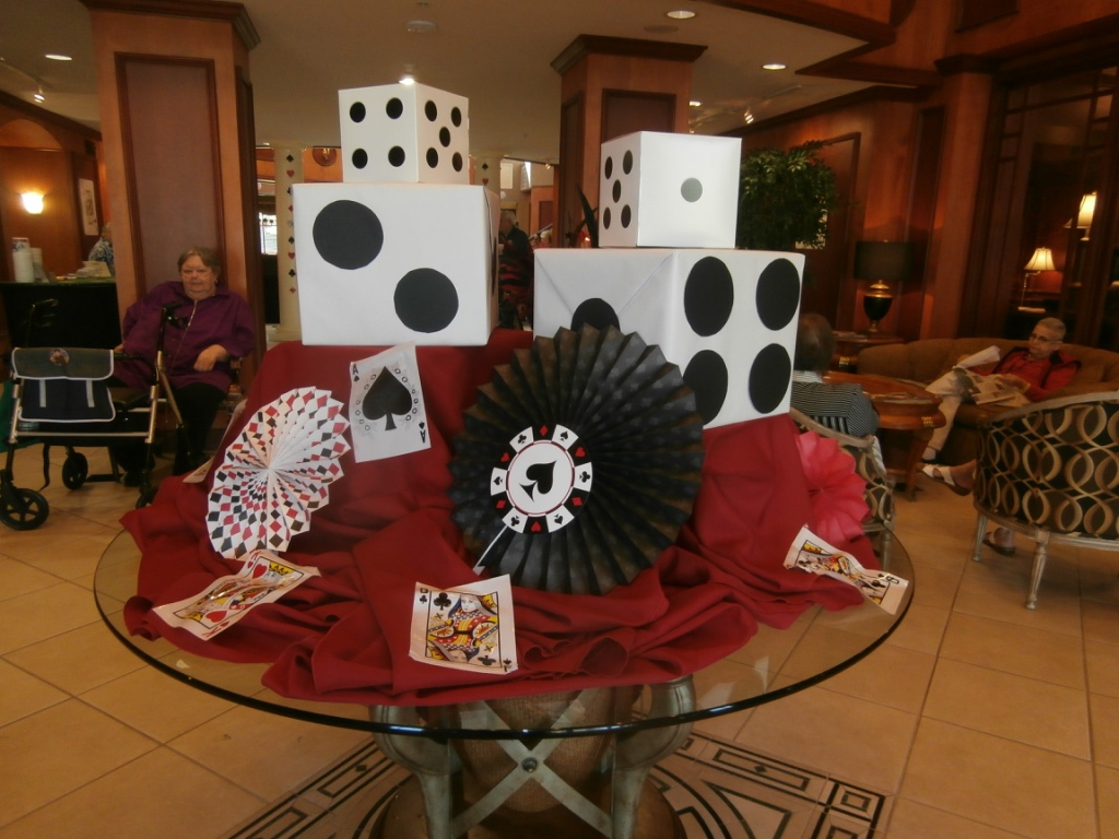 Casino night party theme